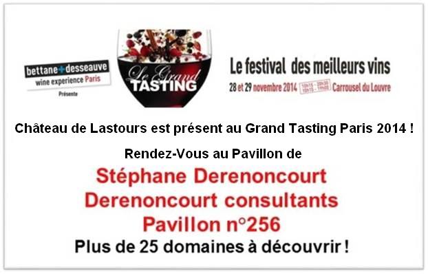 Château ed Lastours Grand Tasting 2014