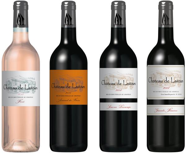 Château de Lastours vins AOP Corbières