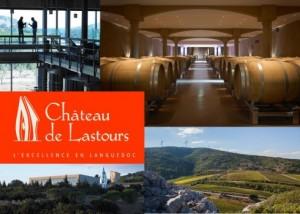 Château de Lastours visite